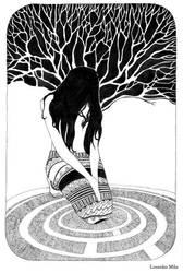 - Nighttime heart - by Losenko