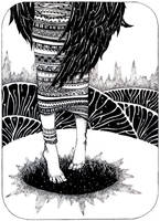 - Hole in the winter - by Losenko