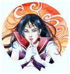 - Art Trade - Sailor Mars - by Losenko