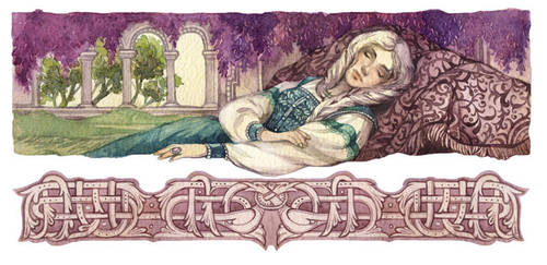 - Ludmila sleep - by Losenko
