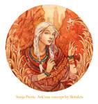 - Commission - Sonja Pteris - by Losenko