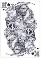 - Slavic god - Chernobog - by Losenko