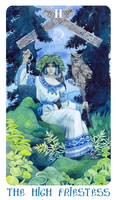 - Arcanum II (2) - The high priestess - by Losenko
