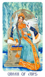 Queen of cups by Losenko
