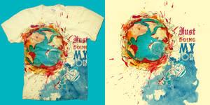 Extinguishnaut : Shirt by choppre