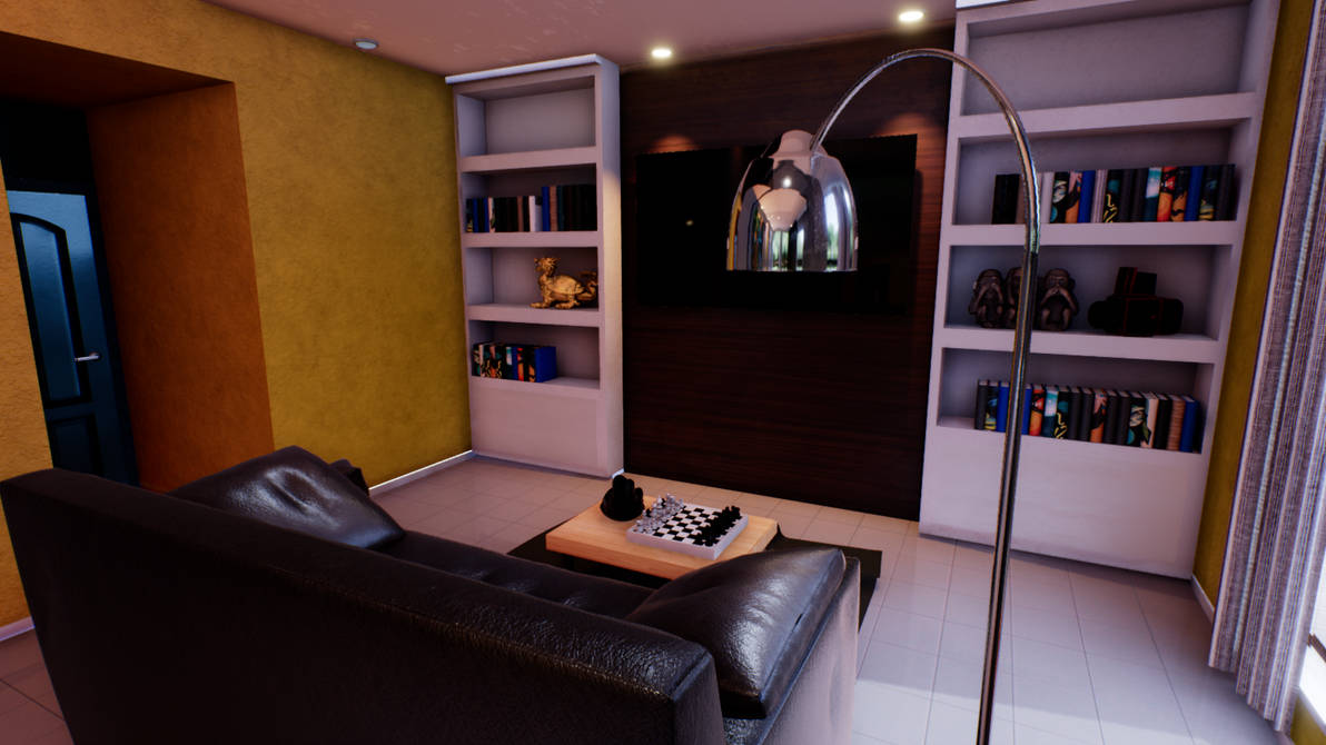Interactive Living Room By Gera094