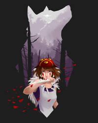 Princess Mononoke by AkiDead