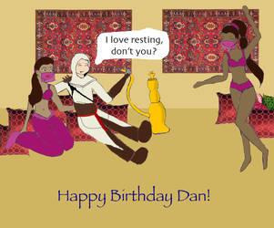 Happy Birthday Dan by ringwraith2004