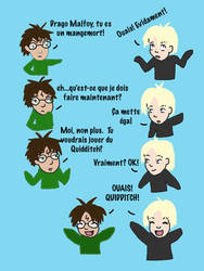 Harry Potter Vs Draco Malfoy 2 by ringwraith2004