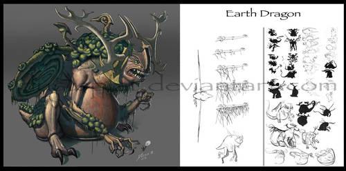 Earth Dragon by dustsplat