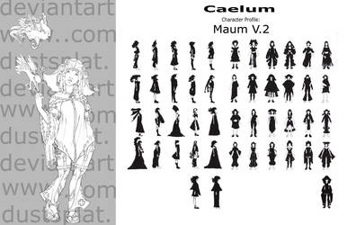 Caelum Character design MaumV2 by dustsplat