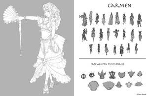 Carmen by dustsplat