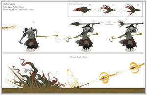 Baba Yaga Action sheet 1 by dustsplat