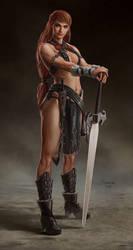 Warrior Girl by dustsplat