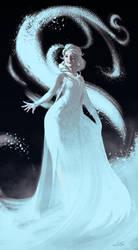 Frozen - Elsa by dustsplat