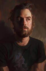 Rob Portrait by dustsplat