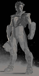 Plugsuit guy by dustsplat