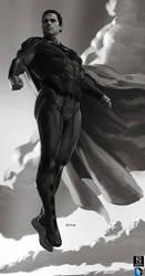 Superman by dustsplat