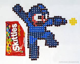Skittle Mega Man by mattmcmanis