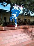 Skateboarding Power Ranger by mattmcmanis