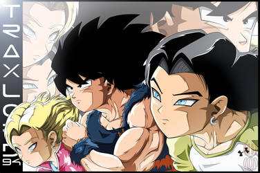 Team Goku, Android 17 And 18. by TraxLord94