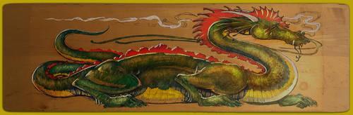 Water Dragon 3 by mscibilia