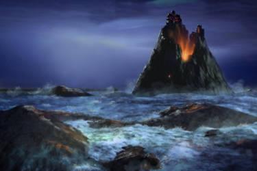 Gates of Hell Island by mscibilia