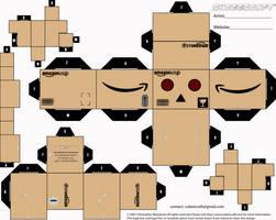 Amazon Danbo Cubeecraft by LimeTH