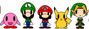 Nintendo PACs by LimeTH
