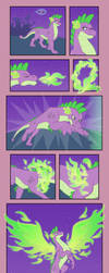 MLP - Spike's Wings by merrypaws