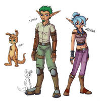 Jak OC designs :color: by merrypaws