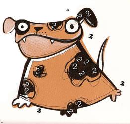 one dog by celinemeisser