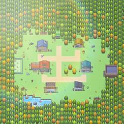 Pokemon Resurgence - Longiqus Town by HenryTrashDesigner