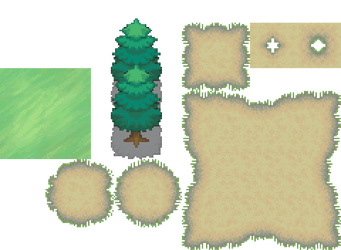 Pokemon BW Nature Tiles by HenryTrashDesigner