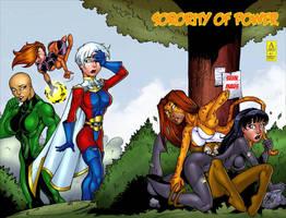 Sorority of Power Issue 1 by argocomics