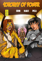 Sorority of Power Issue 6 Now Available by argocomics