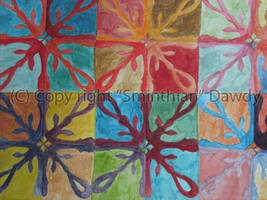 Watercolor Mosaic by Sminthian