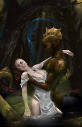 The Frog Queen by kalomo