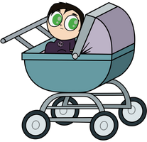 TD: Baby in Carriage - Gwent by GothikXenon