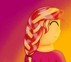 Sunsets Braid - New hair style by SophieVioin