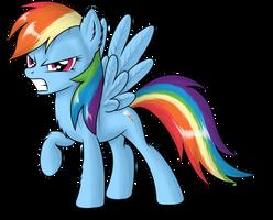 Rainbow Dash by SkorpionLetun