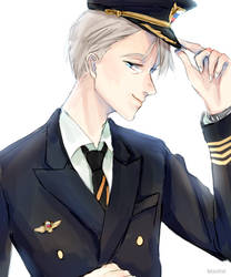 Captain Nikiforov by ceefam