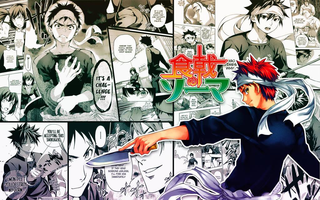 Souma Manga Style Wallpaper 2 By Playingasone On Deviantart
