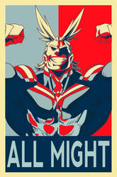 Prop All Might by blackshipsupply