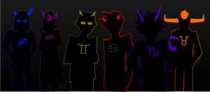 The Troll Gentlemen of Homestuck by KindCritic