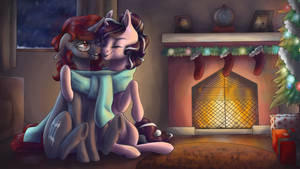 Comfy For Christmas by EbonyTails