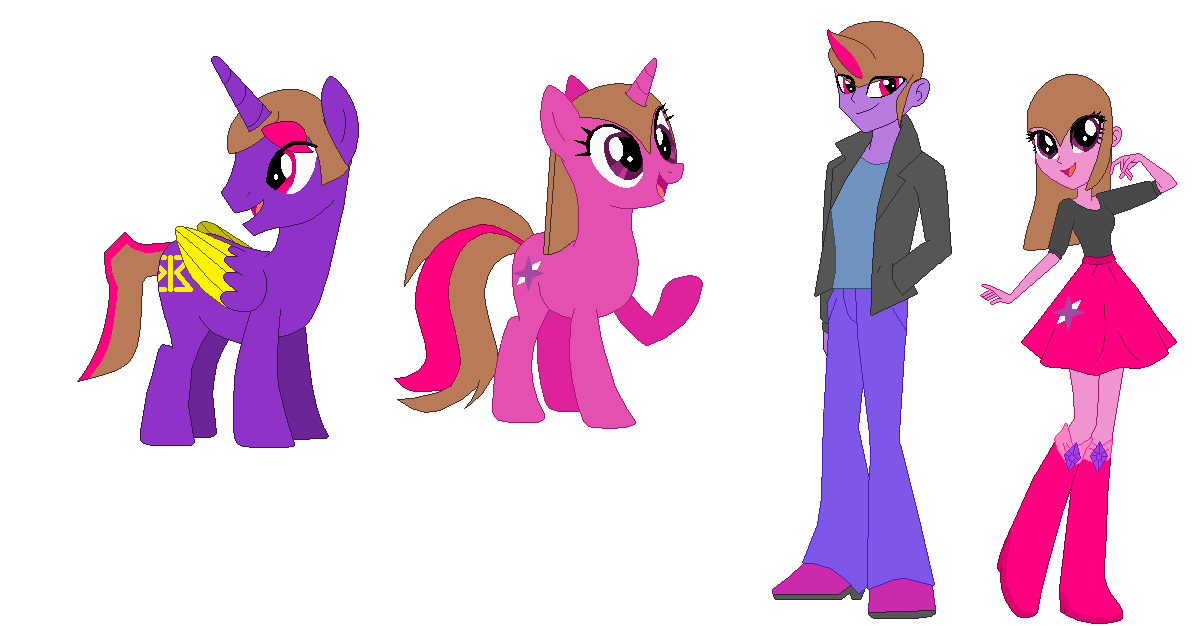 Pasquale Russo and Zoe Spark's Kids In MLP by Z-Shadow-0 on DeviantArt