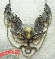 Steampunk king bird by TimelessCharm