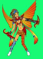 Fantasy of Dragoon redux by OblivionMasquerade