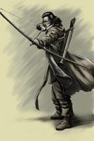 Elven archer by SOLIDToM